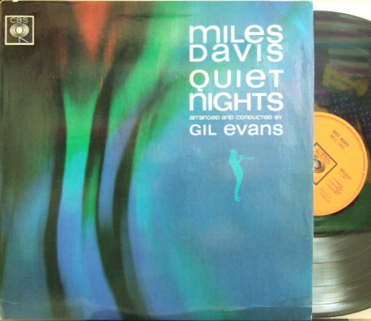 【英CBS mono】Miles Davis/Quiet Nights