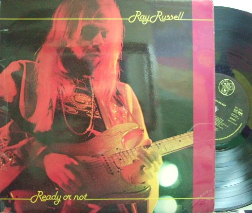 【英DJM】Ray Russell/Ready or Not (Mo Foster, Simon Philips, Tony Hymas, Tony Roberts, etc)