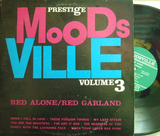 【米Moodsville mono】Red Garland/Red Alone