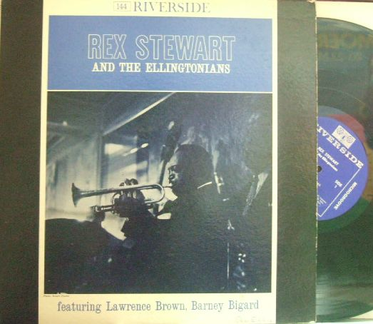 【米Riverside mono】Rex Stewart/And The Ellingtonian