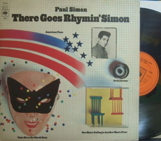 【英CBS】Paul Simon/There Goes Rhymin' Simon