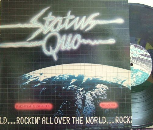 【英Vertigo】Status Quo/Rockin' All Over The World