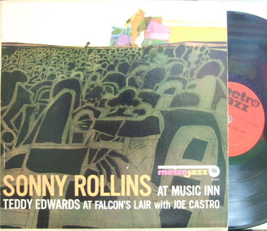 【米Metro Jazz mono】Sonny Rollins/At Music Inn & Teddy Edwards/At Falcon's Lair