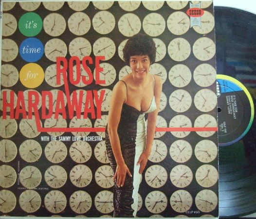【米Seeco mono】Rose Hardaway/It's Time For Rose Hardaway with Sammy Lowe Orchestra