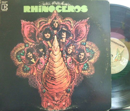【米Elektra】Rhinoceros/Satin Chickens (Alan Gerber, Billy Mundi, etc)