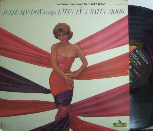 【米Liberty】Julie London/sings Latin In A Satin Mood