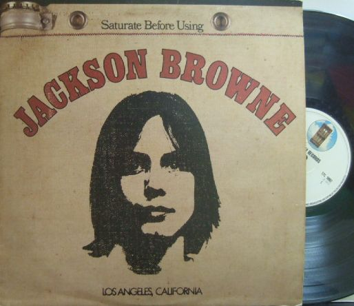【英Asylum】Jackson Browne/Saturate Before Using (グラモフォン・リム)