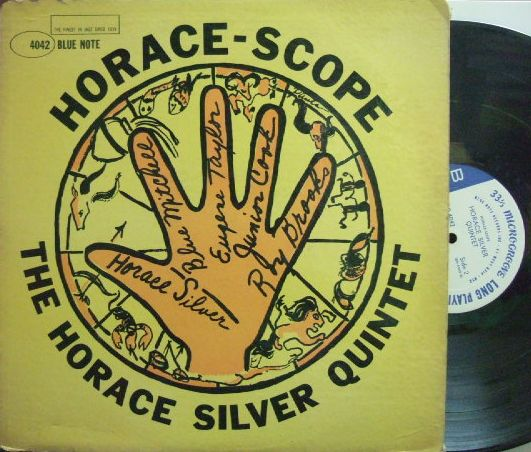 【米Blue Note 47w63 mono】Horace Silver/Horace Scope