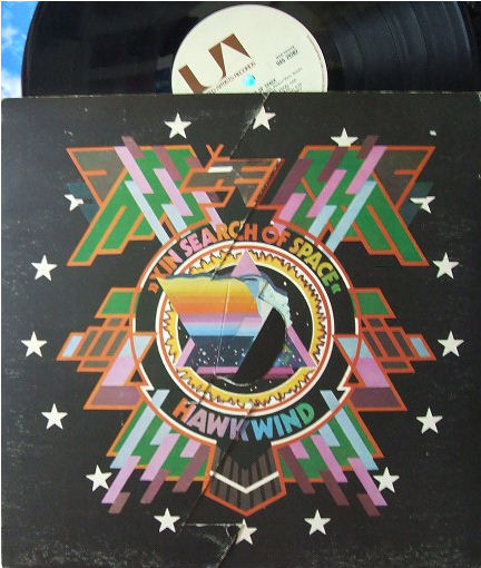 【英United Artists】Hawkwind/In Search of Space (変形ジャケット)