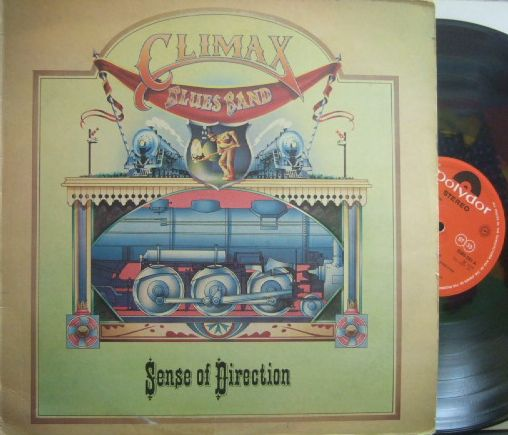 【英Polydor】Climax Blues Band/Sense of Direction