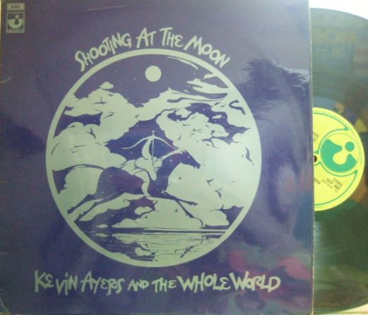 【英Harvest】Kevin Ayers & The Whole World/Shooting At The Moon (Mike Oldfield, Lol Coxhill, David Bedford)