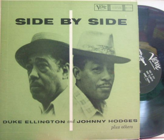 【米Verve mono】Duke Ellington and Johnny Hodges/Side by Side (Ben Webster, Harry Edison, etc)