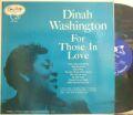 【米EmArcy mono】Dinah Washington/For Those In Love (Wynton Kelly, Clark Terry, Paul Quinichette, etc)