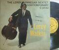 ����Contemporary mono��Leroy Vinnegar/Leroy Walks! (Cal Perkins, Victor Feldman, etc)