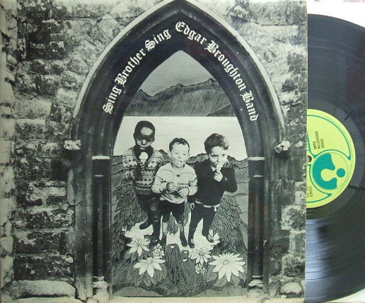 【英Harvest】Edgar Broughton Band/Sing Brother Sing (グラモフォン・リム)