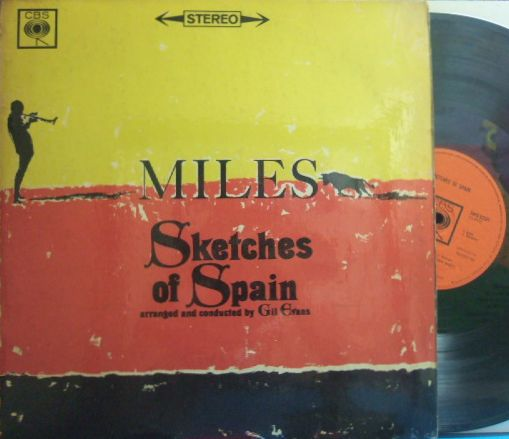 【英CBS】Miles Davis/Sketches of Spain