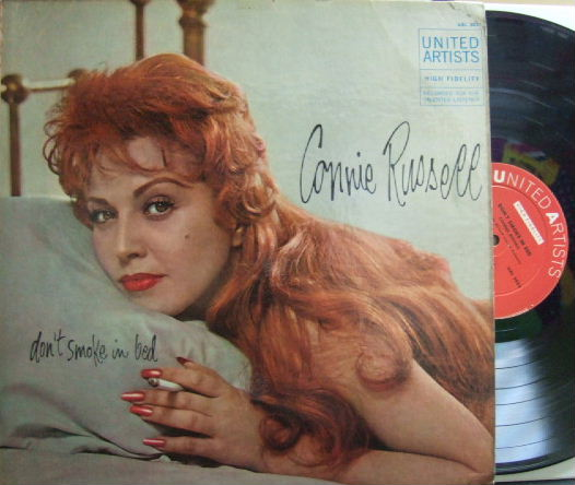 【米United Artists mono】Connie Russell/Don't Smoke In Bed