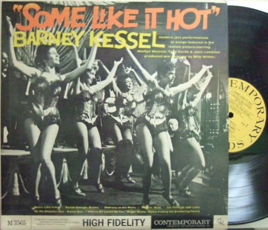 【米Contemporary mono】Barney Kessel/Some Like It Hot (Art Pepper, Jimmie Rowles)