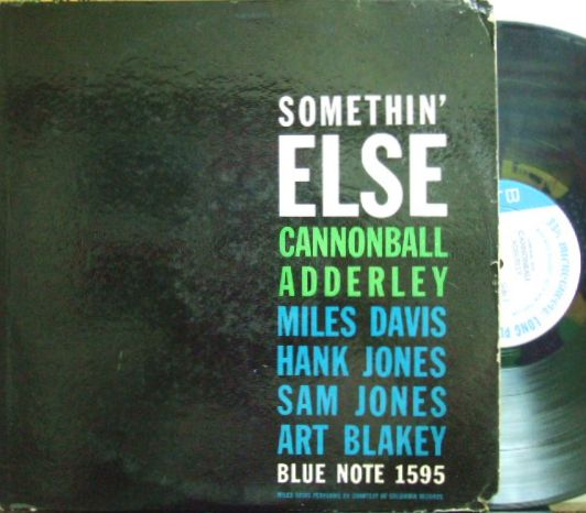 【米Blue Note NY mono】Julian Cannonball Adderley/Somethin' Else (Miles Davis)