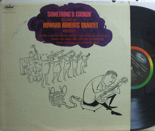 【米Capitol mono】Howard Roberts/Something's Cookin' (Jack Sheldon, Frank Rosolino, etc)