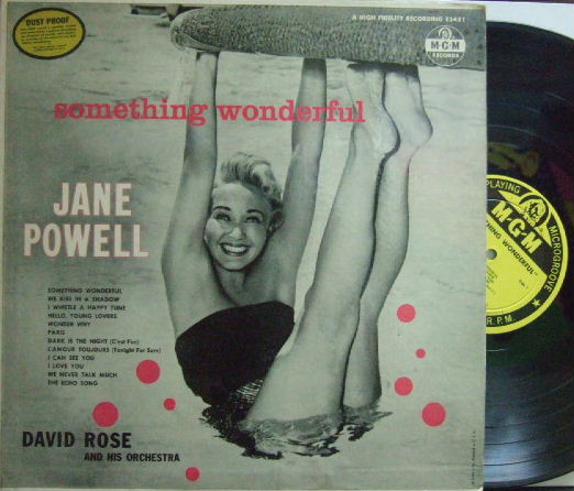 【米MGM mono】Jane Powell/Something Wonderful