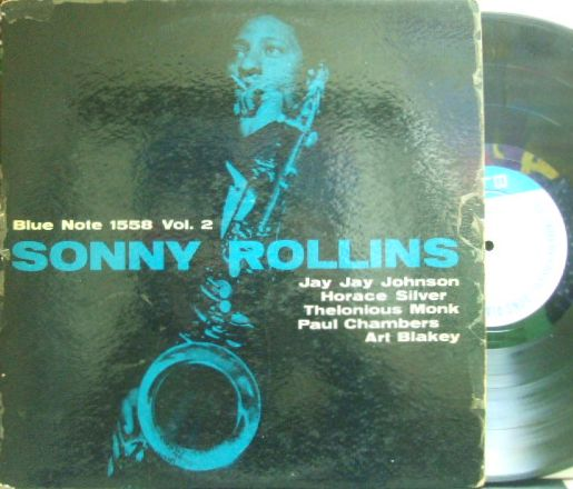 【米Blue Note 47w63NY23 mono】Sonny Rollins/Vol.2 (1558)