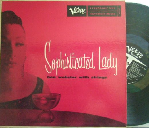 【米Verve mono】Ben Webster/Sophisticated Lady (Teddy Wilson, etc)
