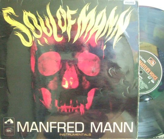 【英HMV mono】Manfred Mann/Soul of Mann