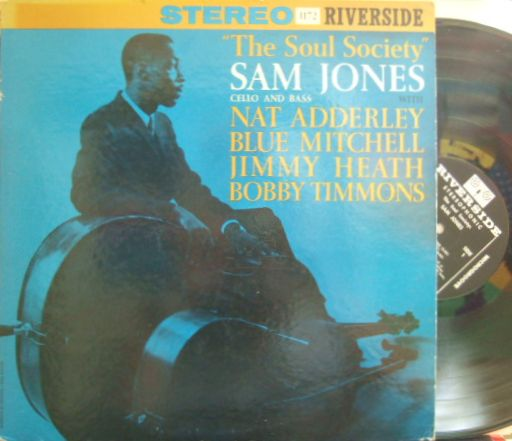 【米Riverside mono】Sam Jones/The Soul Society (Blue Mitchell, Bobby Timmons, etc)