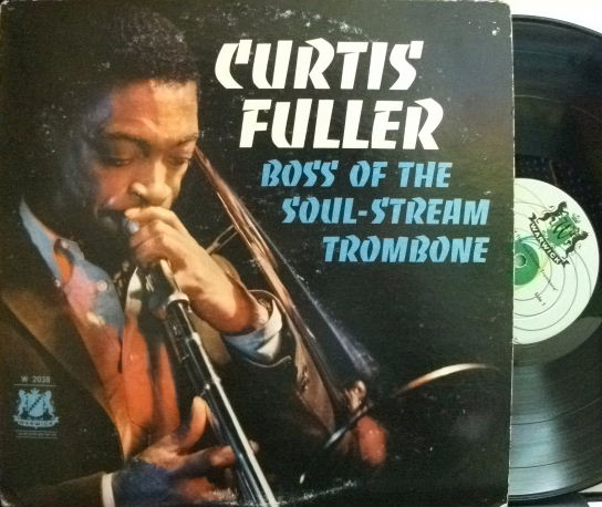 【米Warwick mono】Curtis Fuller/Boss of The Soul-Stream Trombone (Freddie Hubbard, Walter Bishop, etc)