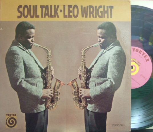 【米Vortex】Leo Wright/Blues Talk (Kenny Burrell, Frankie Dunlop, etc)