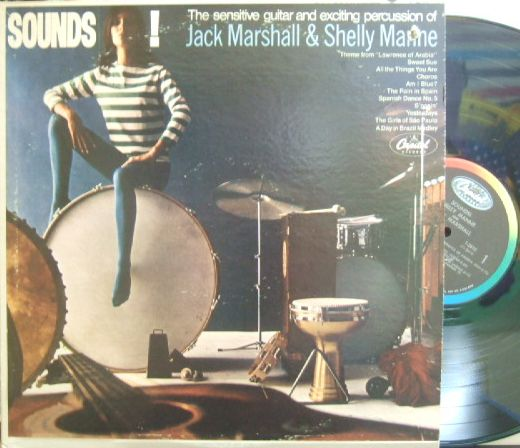 【米Capitol mono】Jack Marshall & Shelly Manne/Sounds!