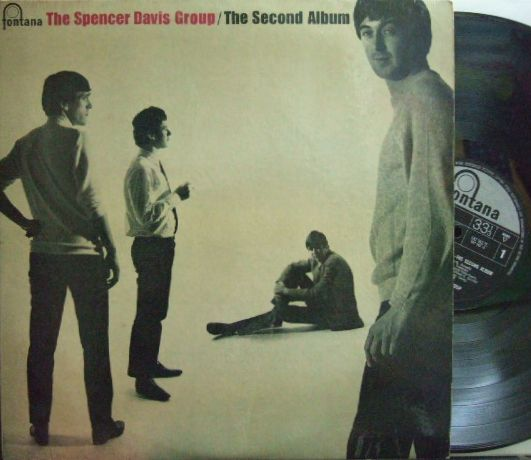 【英Fontana mono】Spencer Davis Group/Second Album