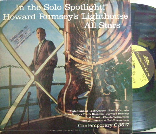 【米Contemporary mono】Howard Rumsey's Lighthouse All-Stars/In The Solo Spotlight (promo)