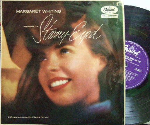 【英Capitol 10'mono】Margaret Whiting/Sings For The Starry-Eyed