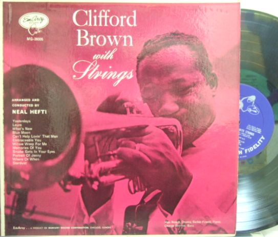 【米EmArcy mono】Clifford Brown/with Strings