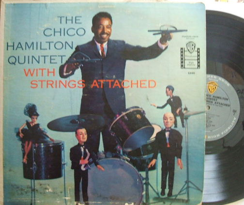 【米Warner Bros mono】Chico Hamilton/With Strings Attached (Eric Dolphy)