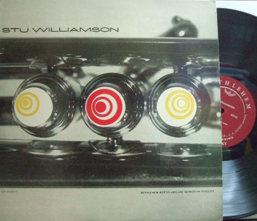 【米Bethlehem mono】Stu Williamson/Same (Charlie Mariano, Jimmy Giuffre, Claude Williamson, etc)