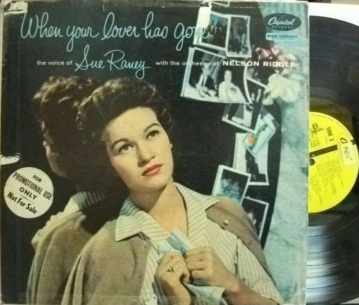 【米Capitol mono】Sue Raney/When Your Lover Has Gone (promo)