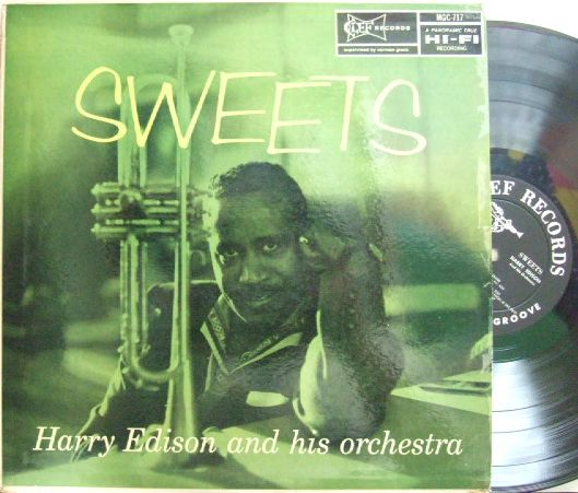 【米Clef mono】Harry Edison/Sweets (Ben Webster, Barney Kessel, Jimmy Rowles, etc)
