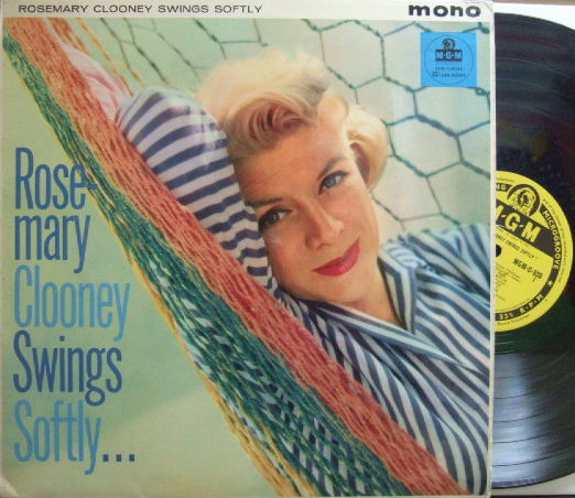 【英MGM mono】Rosemary Clooney/Swings Softly