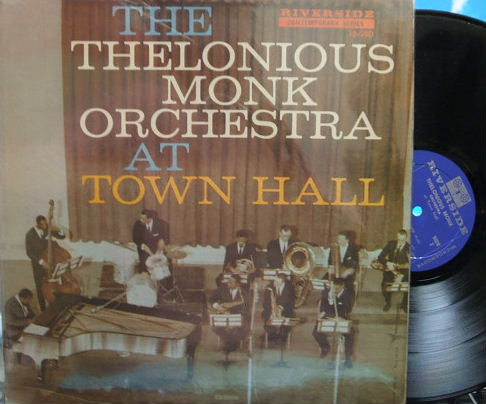 【米Riverside mono】Thelonious Monk Orchestra/At Town Hall (Donald Byrd, Phil Woods, etc)