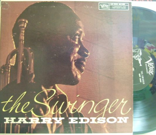 【米Verve mono】Harry Edison/The Swinger (Jimmy Forrest, Jimmy Jones, Freddie Greene, etc)