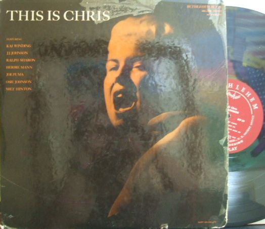 【米Bethlehem mono】Chris Connor/This Is Chris