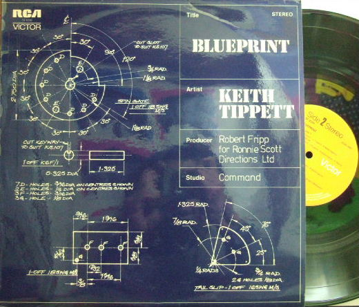 【英RCA】Keith Tippett/Blueprint (Roy Babbington, Frank Perry, etc Robert Fripp produced)
