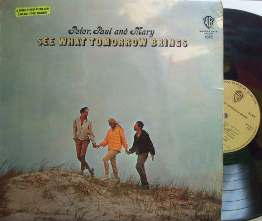 【英Warner Bros】Peter Paul and Mary/See What Tomorrow Brings