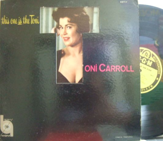 【米MGM mono】Toni Carroll/This One Is The Toni