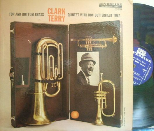 【米Riverside mono】Clark Terry/Top and Bottom Brass