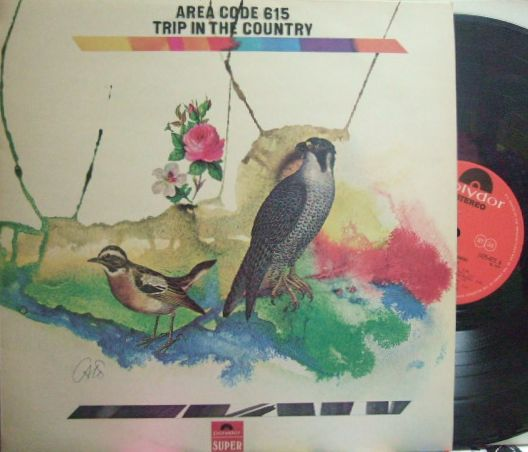 【英Polydor】Area Code 615/Trip In The Country (Wayne Moss, Mac Gayden, David Briggs, Norbert Putnam, etc)