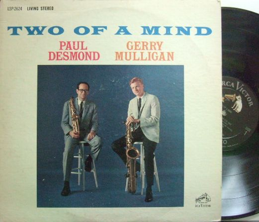 【米RCA Victor】Paul Desmond & Gerry Mulligan/Two Of A Mind